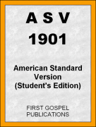 ASV 1901 American Standard Version (Students Edition)
