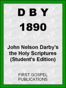 DBY 1890 John Nelson Darbys the Holy Scriptures (Students Edition)