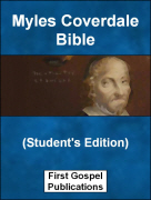 Myles Coverdale Bible (Students Edition)