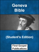 Geneva Bible (Students Edition)