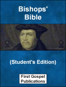 Bishops Bible (Students Edition)