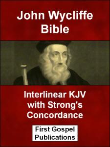 Download eBook: John Wycliffe Bible Interlinear KJV with Strong's