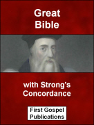 Great Bible with Strongs Concordance
